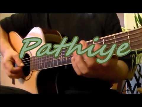 Pathiye Guitar Tutorial With Sheet Music, Tabs, Lyrics and Chords