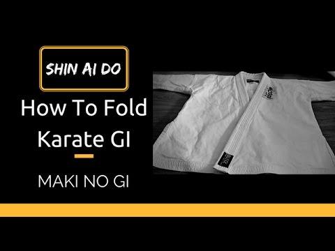 How To Fold Karate Gi