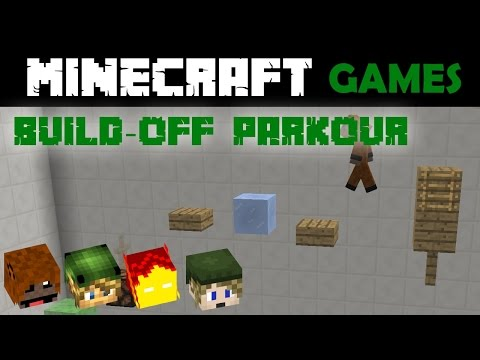 Minecraft Build-off Parkour #4 - Uncontrollable edition with Goldenturkey