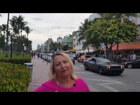 Ocean Drive Exhibitionism, Miami South Beach. July 2017