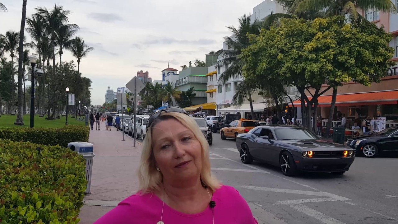 ocean drive exhibitionism, miami south beach. july 2017 - youtube