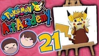 Pokemon Art Academy: Flying High - PART 21 - Grumpcade