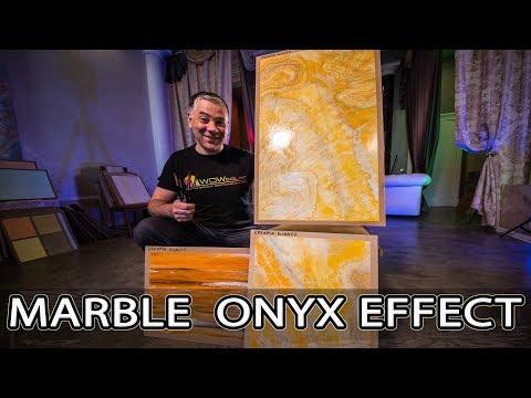 Эта Венецианка -УБИЙЦА МРАМОРА | How to Create a Marble Onyx | Creama Bianco Stucco Wowcolor