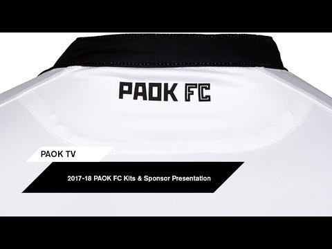 PAOK FC Kits & Sponsor Presentation - PAOK TV