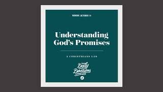 Understanding God's Promises - Daily Devotion