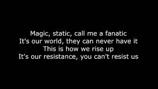 Repeat youtube video Skillet - The Resistance (Lyrics HD)