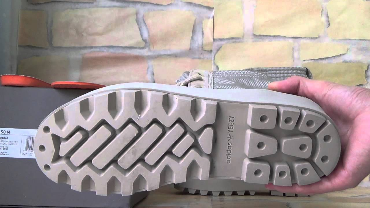 "4fc6631097ed8 adidas Yeezy boost 950 Boot ""Peyote""AQ4828 - YouTube"