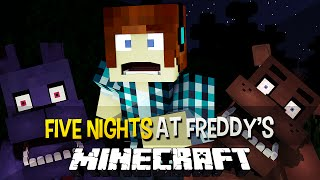 Minecraft: Sobrevivemos A Primeira Noite !! - Five Nights at Freddy