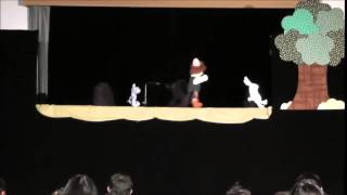 人形劇団つくしんぼ「ぺーチャとあひるの子2014」