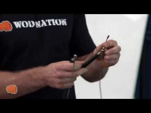 How to Size Your Jump Rope for Double Unders by WOD Nation's coach Barry @ CrossFit Chiang Mai