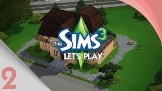 Let's play Sims 3 #2 | Le coeur de la maison... LA CUISINE !