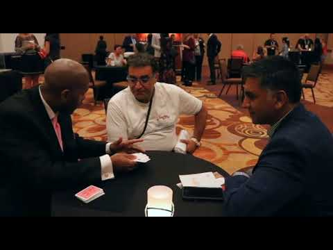 Interactive Card Magic For Corporate Social Events