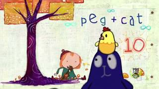 peg cat opening sequence