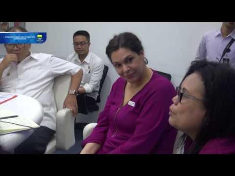 161115 Menerima Ombudsman Republik Indonesia dan Ombudsman Australia
