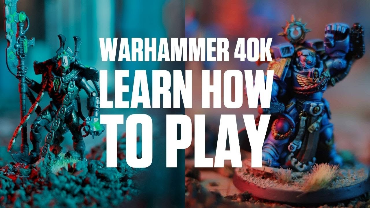 How To Play Warhammer 40,000 For Beginners