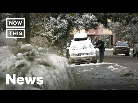 Denver Shocked By Extreme Two-Day Weather Shift | NowThis