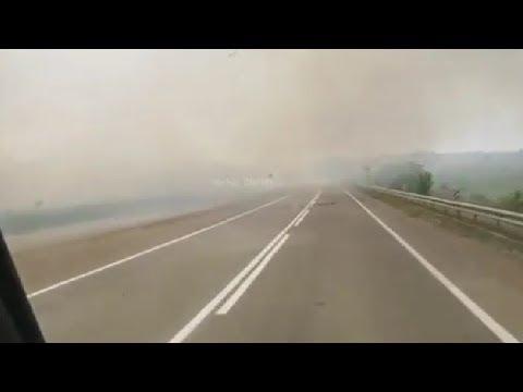 Егеря Бештаугорского заказника предотвратили пожар