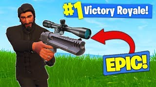 The *SNIPER* DESERT EAGLE In Fortnite Battle Royale!