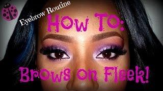 prettiestproblem how to eyebrow tutorial brows on fleek