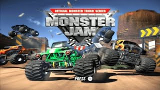 Monster Jam Wii Gameplay