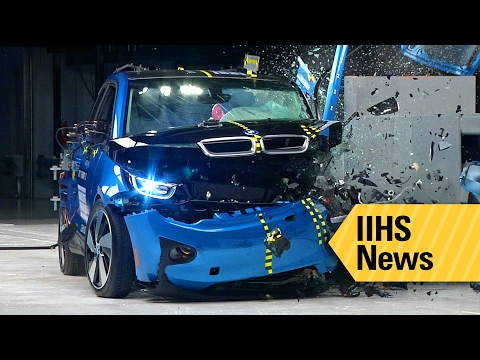 Two all-electric cars miss the mark for IIHS safety awards - IIHS News