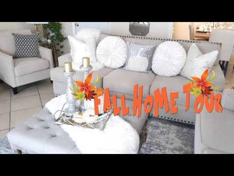 *NEW* FALL HOME TOUR| Entryway Living |Room}Dining Room| Decor Ideas
