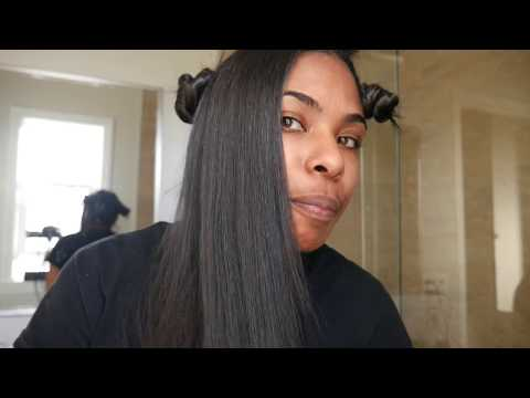 Best cheap flat iron on natural hair: Kipozi silk press review