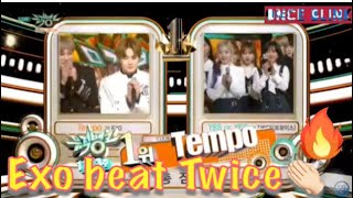 Exo -Tempo 2nd Win Music Bank 181116