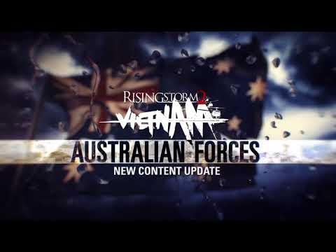Военные силы Австралии в новом трейлере игры Rising Storm 2: Vietnam!