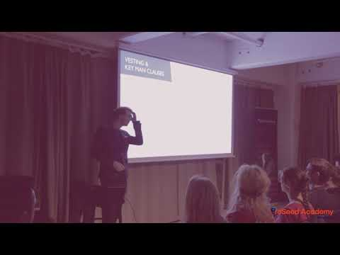 PreSeed Academy #8 - Legal aspects of running a startup w. S