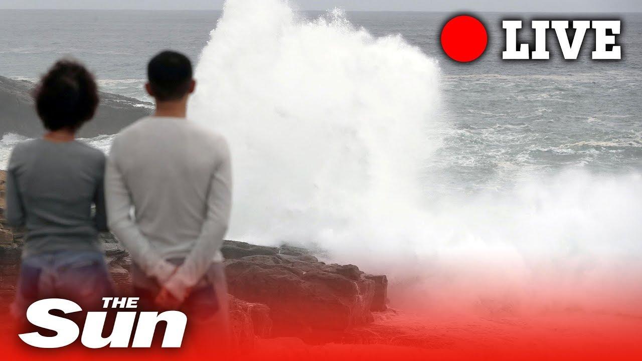 Where is Japan's Typhoon Hagibis now? Latest path updates