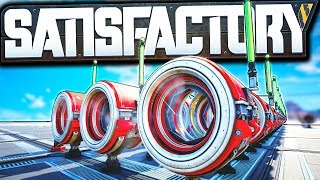 EPIC Cross Map Hyper Tube Launcher! - Satisfactory Early Access Gameplay Ep 20