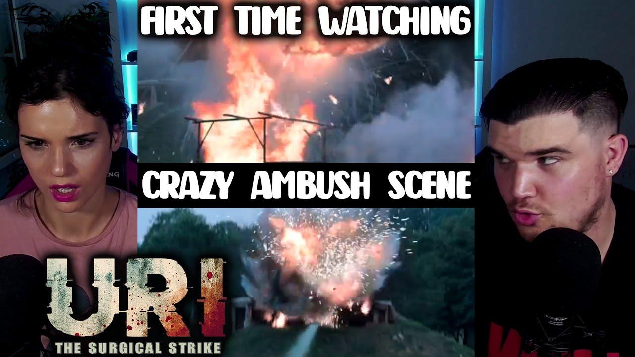 Uri: The Surgical Strike - AMBUSH SCENE! Vicky Kaushal,  Paresh Rawal, Mohit Raina