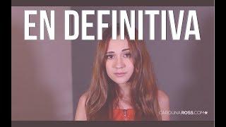 En definitiva - Alfredo Olivas (Carolina Ross cover)