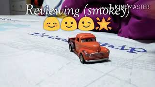 Mattel Disney cars 3 (smokey) 😊😊🙂😉🌟