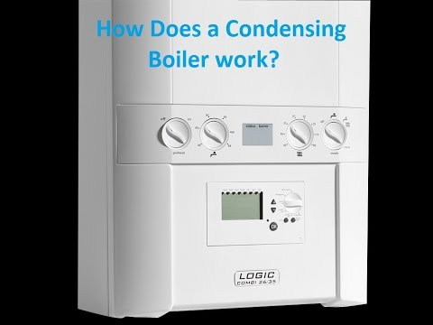 How does a Combi / Condensation boiler work? Logic Combi 35 - YouTube