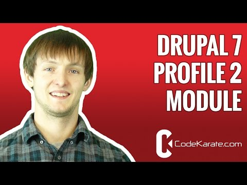 Drupal 7 Profile 2 Module - Daily Dose of Drupal episode 33