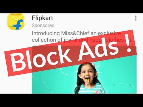 How To Block/Remove Ads From Facebook App(News Feed)-Stop Pop-up Ads On Messenger-2019