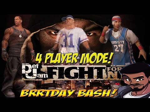 Steeb's Brrrtday Bash! Def Jam Fight For NY! Quick Look - YoVideogames
