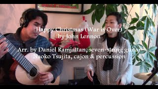 Happy Xmas (War is Over) for Seven-String Guitar and Cajon