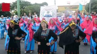 بالفيديو - احتفالات كرنفالية بحضور ''الشيحي وبدر'' في افتتاح أسبوع الفتيات بالمنيا