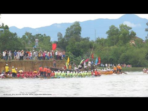 Trở thượng tiêu 2/9/14 - Lễ hội bơi đua thuyền truyền thống trên sông Kiến Giang