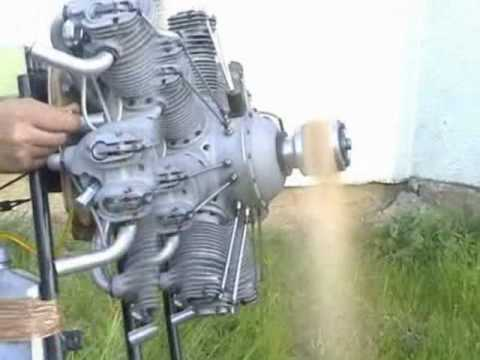 Vogelsang Aeroscale - Valach Motors - radial engine - 4 stroke - giant  scale - model airplane