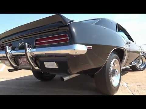 Без комментариев Chevrolet Camaro 396 L89 1969 года