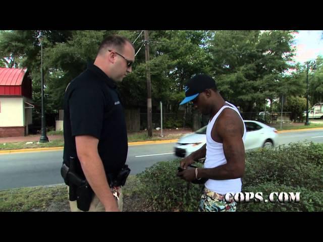 Don't Even Try It!, Advance Patrol Officer Nathan Jentzen, COPS TV SHOW