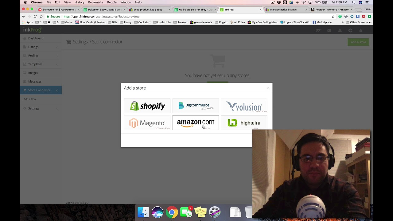 Listing on eBay with Inkfrog Review ~ Transferring A Listing Between eBay  Accounts, etc