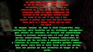Traduction FR des appels de Five Nights At Freddy