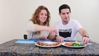 Yabancılar Türk Yemeklerini Deniyor | Bay Areans Try Turkish Food | Foodback