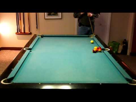 Famous Miller Lite Steve Mizerak Pool Shot Reproduced YouTube - Steve mizerak pool table