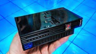 O MINI PS2 QUE FUNCIONA DE VERDADE! MINIATURA PLAYSTATION 2!